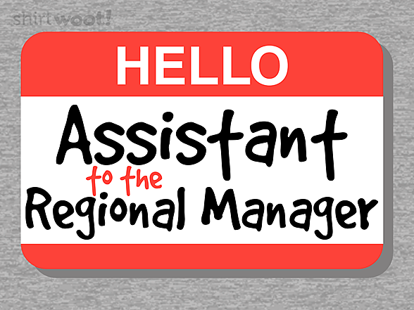 Woot!: Assistant Regional Manager