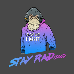 TeePublic: Stay Rad(dus)