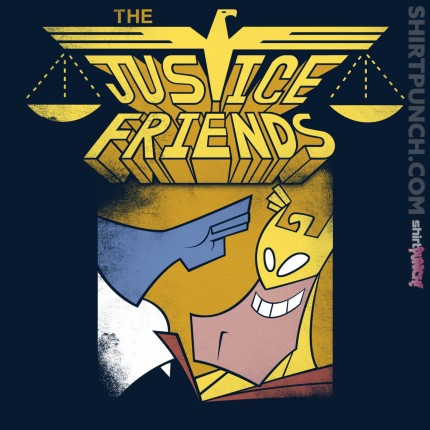 ShirtPunch: Justice Friends