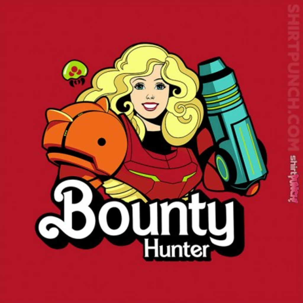 ShirtPunch: Bounty Hunter Barbie