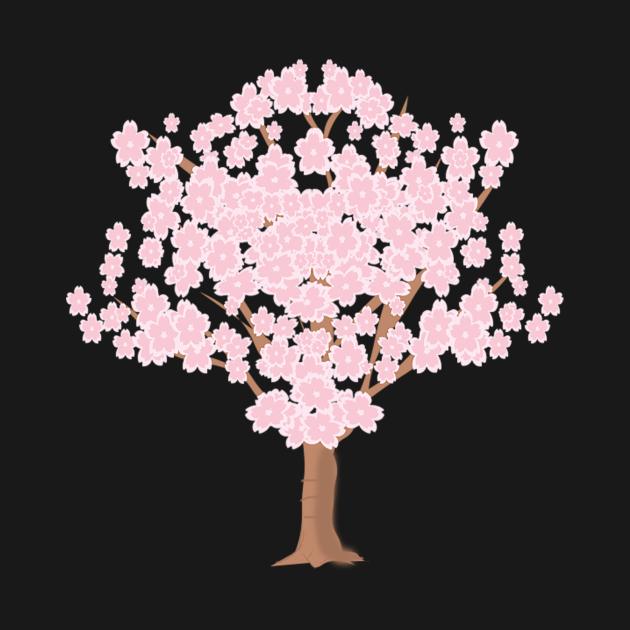 TeePublic: Cherry blossom tree