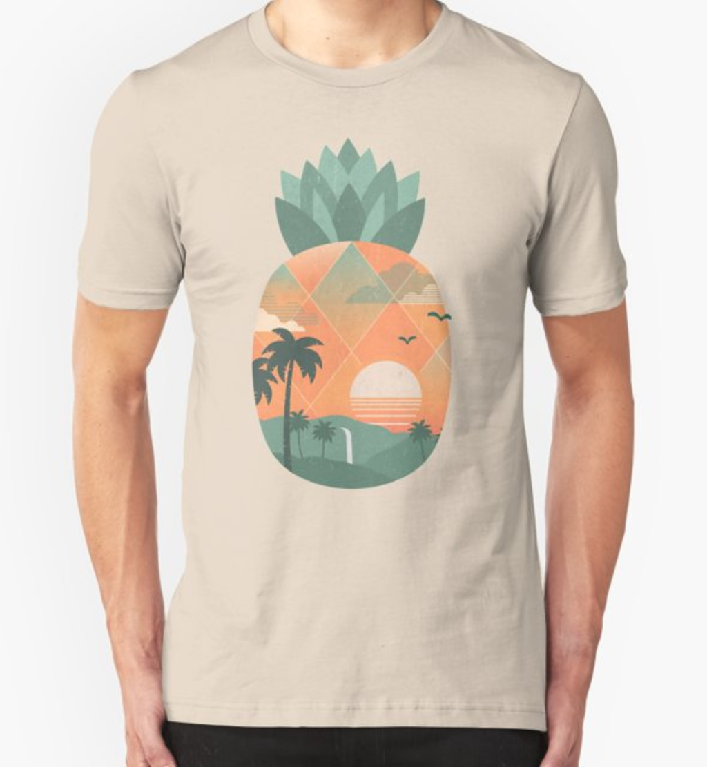 RedBubble: Tropical Gold