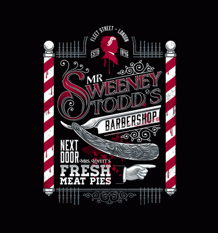 BustedTees: The Demon Barber