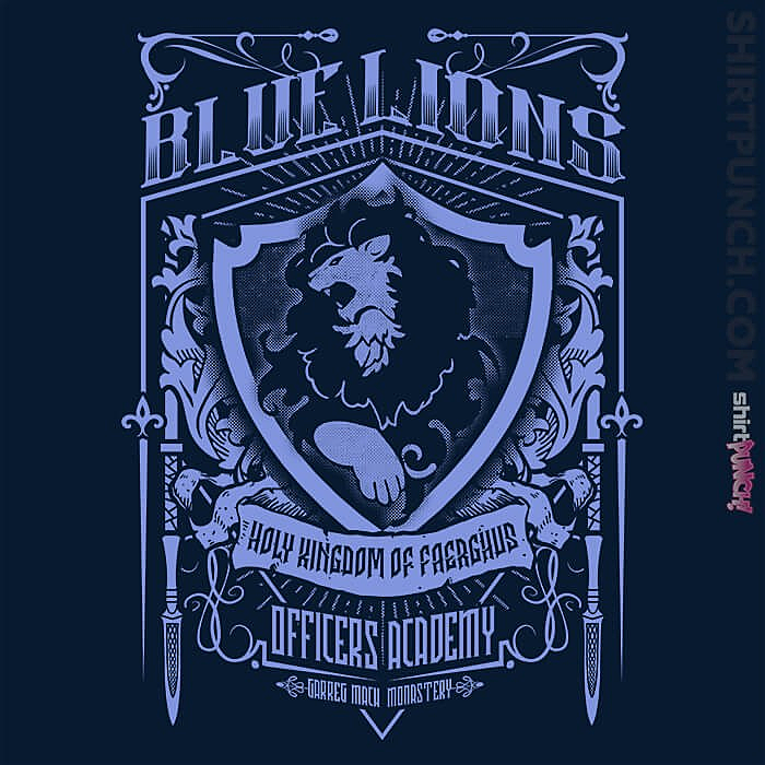 ShirtPunch: Blue Lions Officers Academy