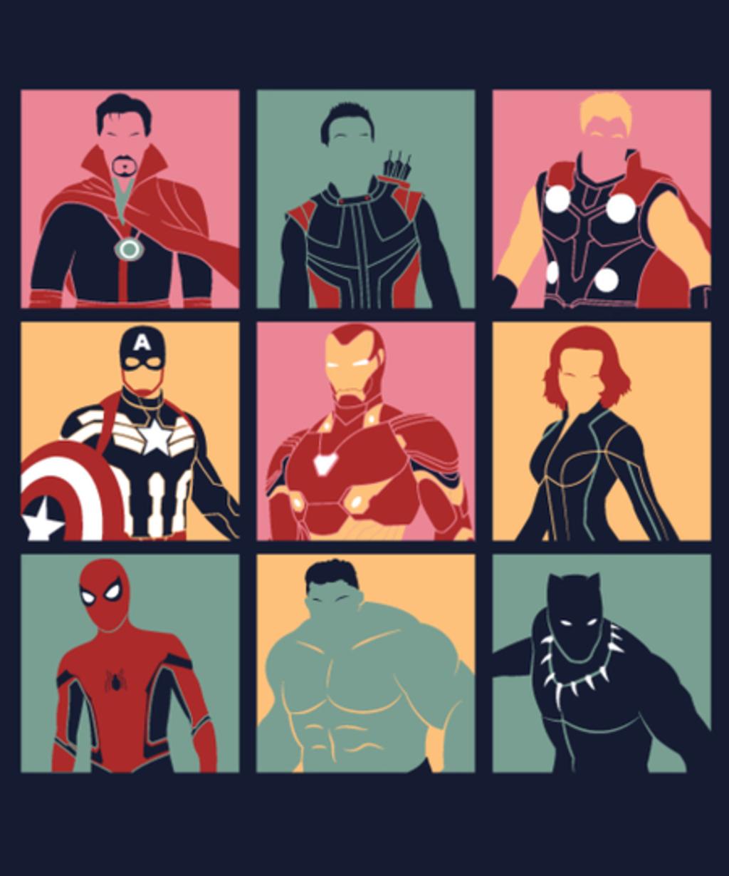 Qwertee: Pop Heroes