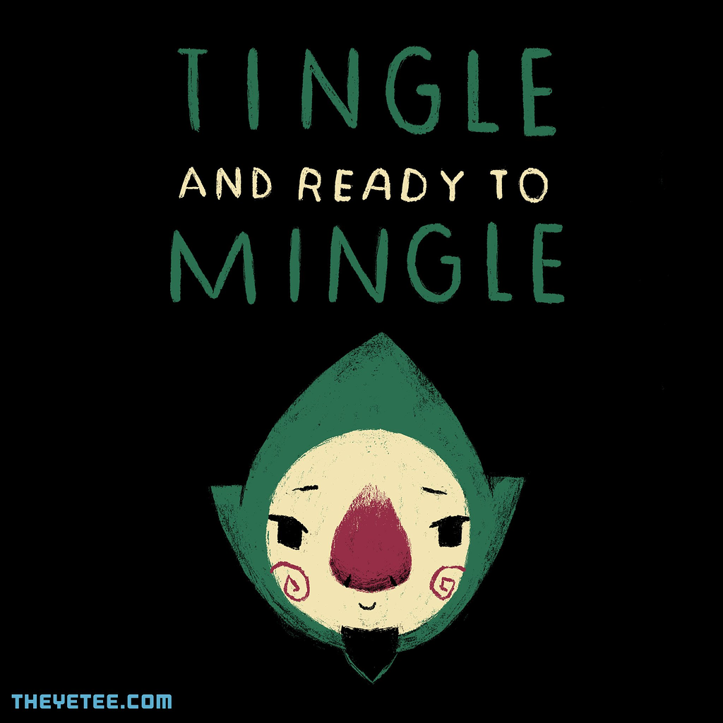 The Yetee: tingle and ready to mingle