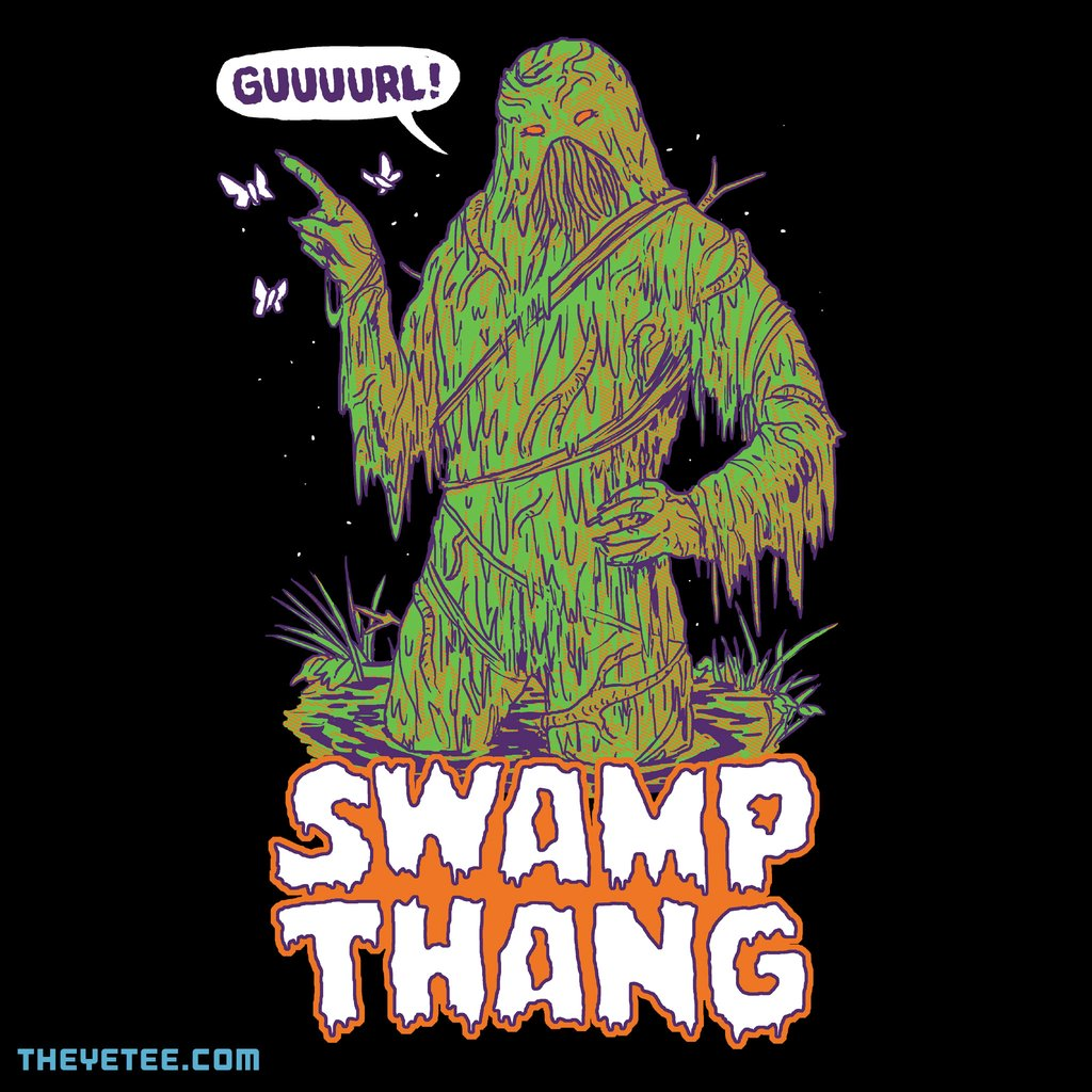 The Yetee: Swamp Thang