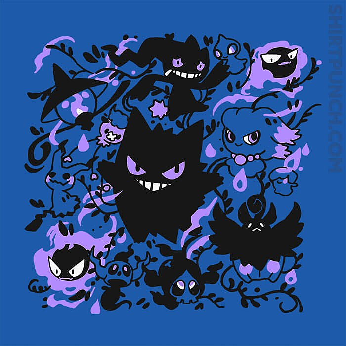 ShirtPunch: Haunted Types