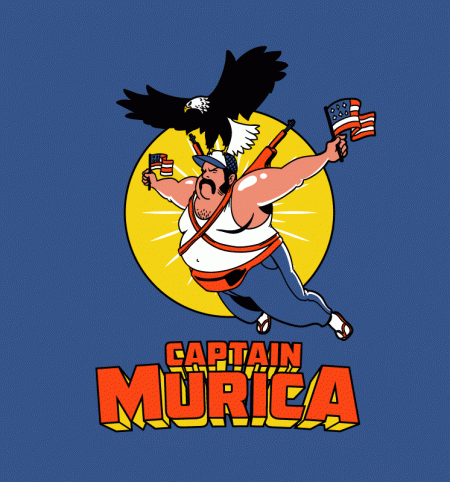 BustedTees: Captain Murica