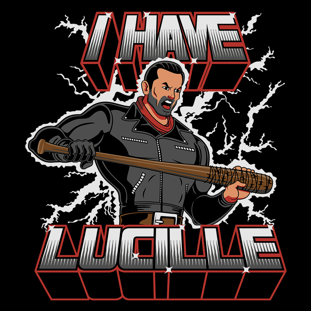 Pop-Up Tee: I Have Lucille