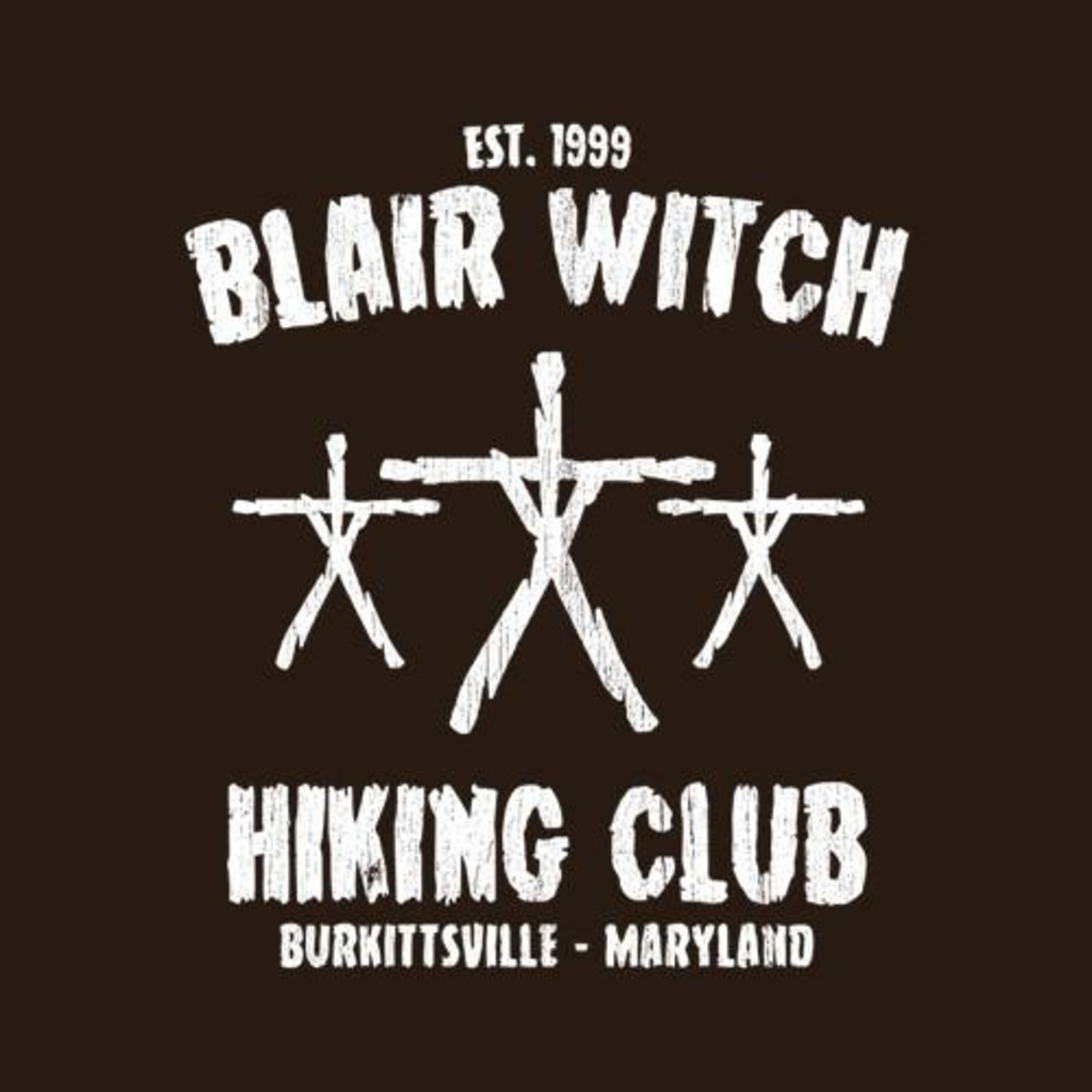 Five Finger Tees: Blair Witch Hiking Club T-Shirt