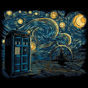 Once Upon a Tee: Starry Gallifrey