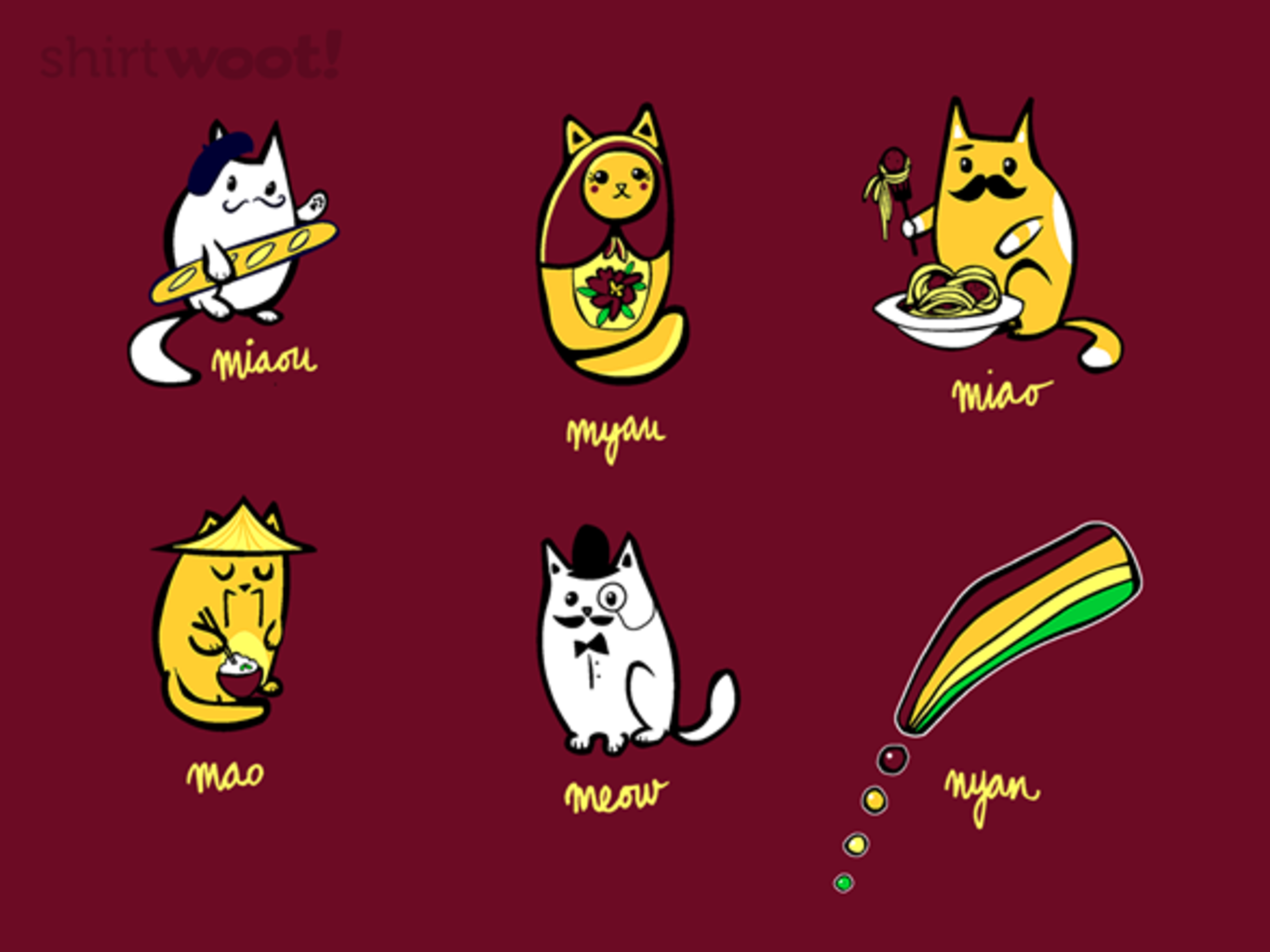 Woot!: World Meows