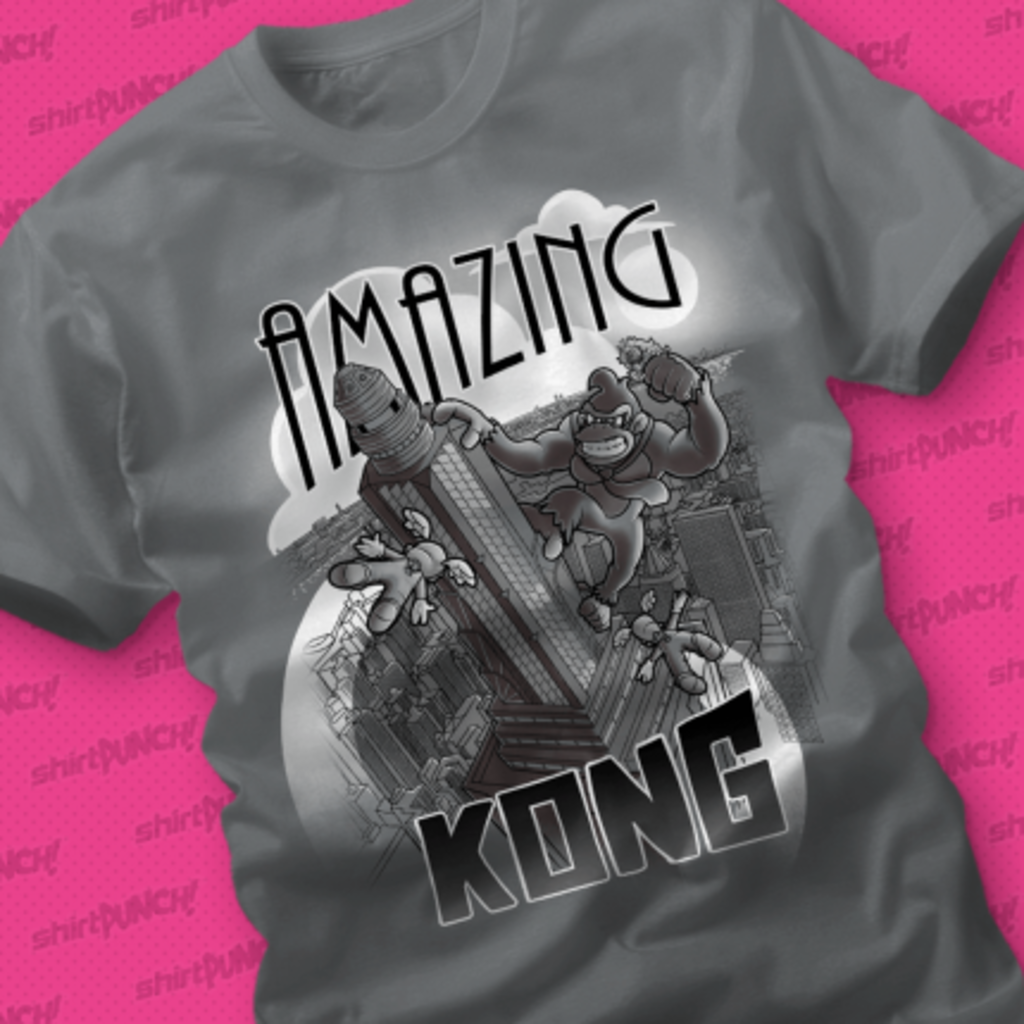 ShirtPunch: Amazing Kong