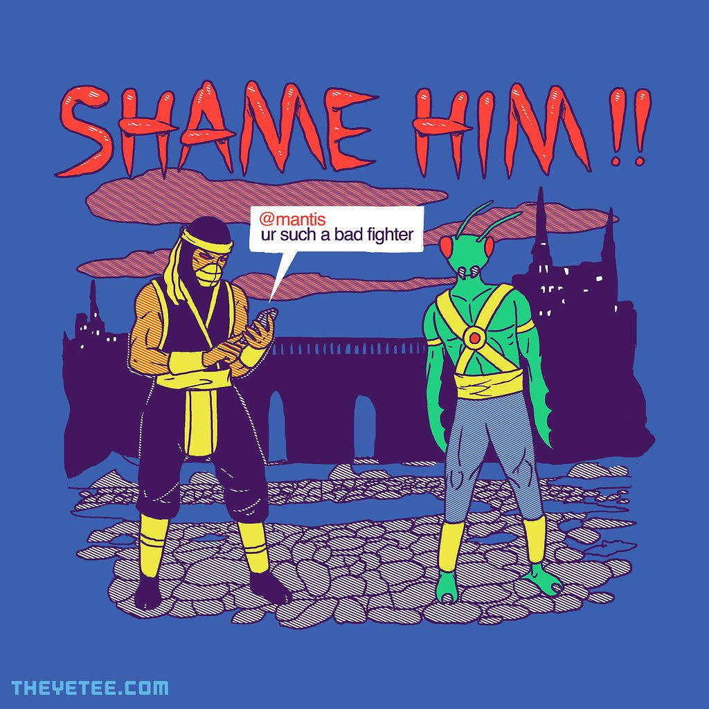 The Yetee: Shame Him!!