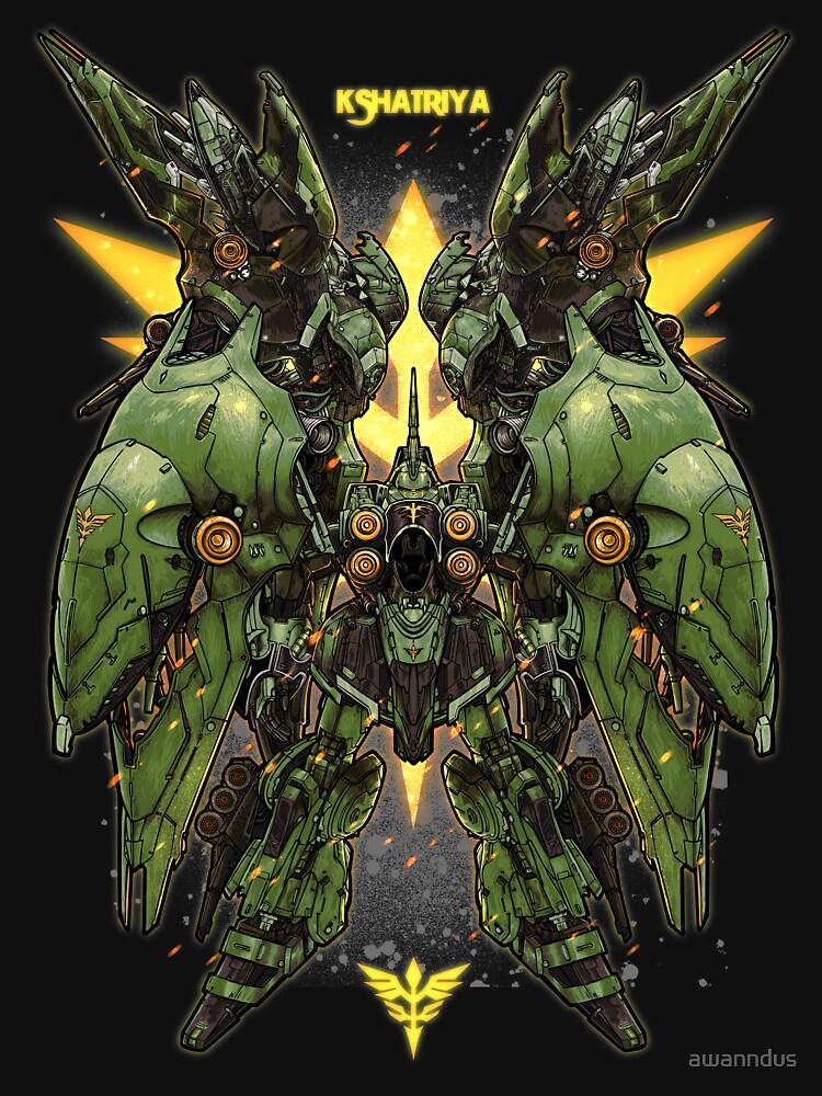 RedBubble: Gundam Khsatriya
