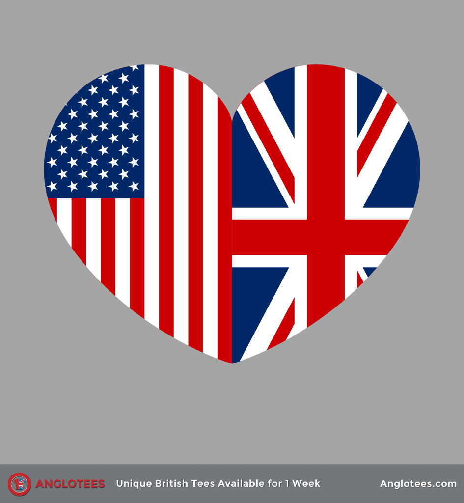 Anglotees: Two Hearts