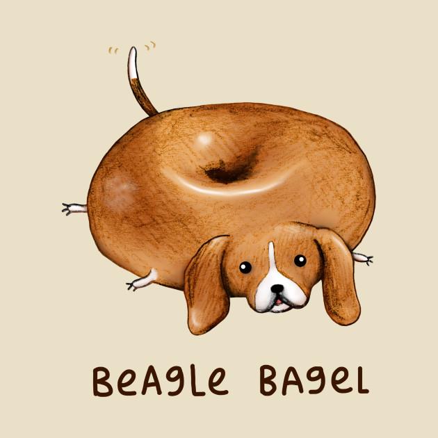 TeePublic: Beagle Bagel T-Shirt