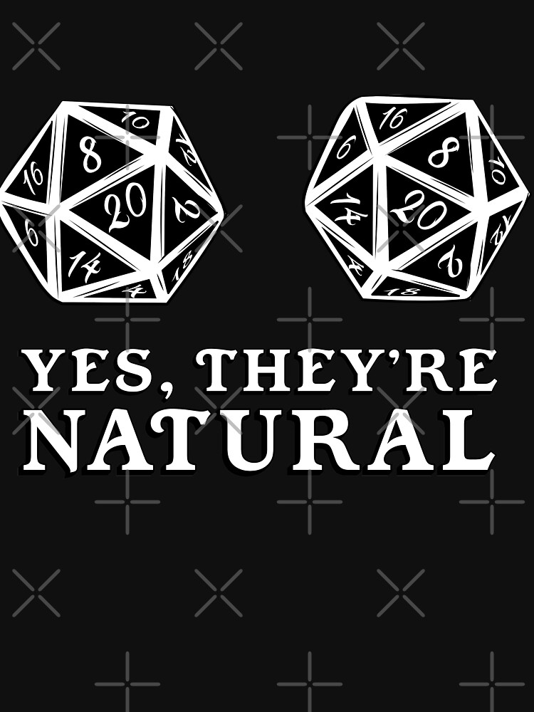 RedBubble: Natural 20s