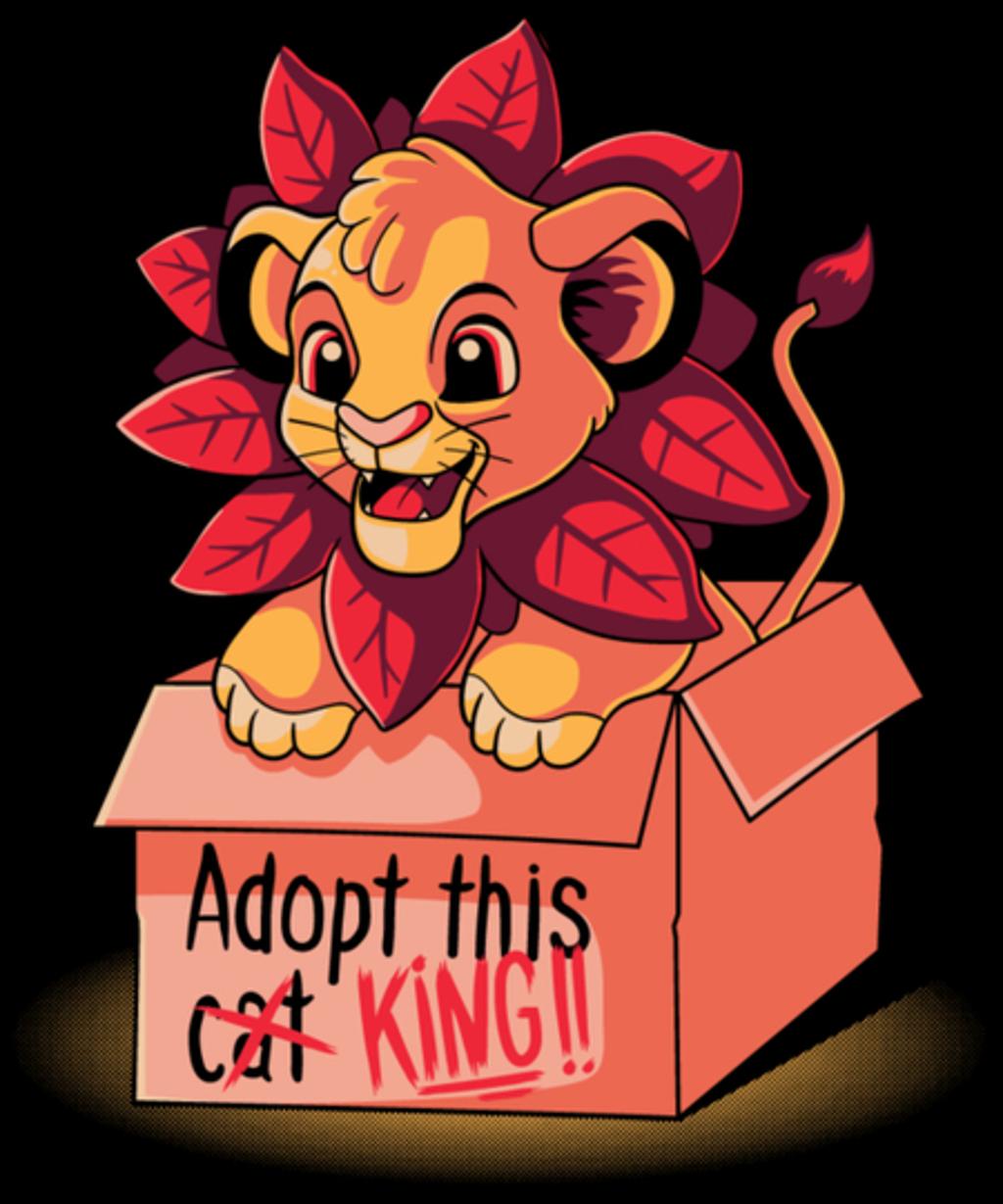 Qwertee: Adopt a king