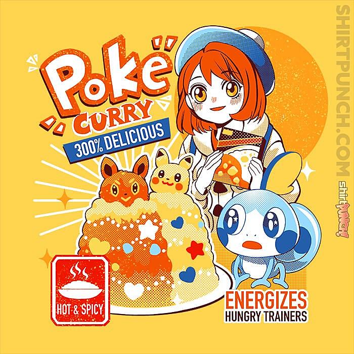 ShirtPunch: Poke Curry