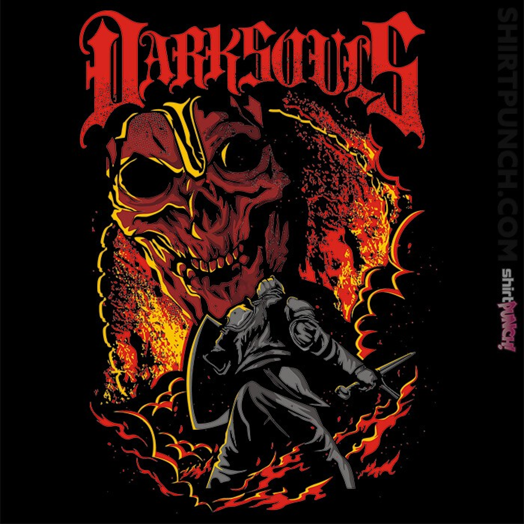 ShirtPunch: Metal Dark Souls