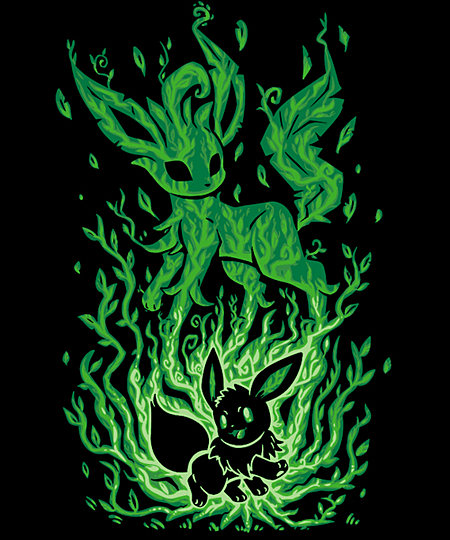 Qwertee: The Leaf Evolution Within