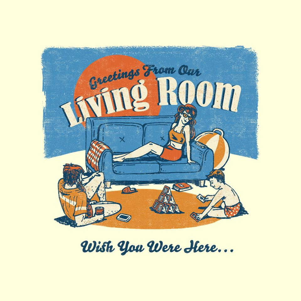 TeeFury: Greetings From Our Living Room