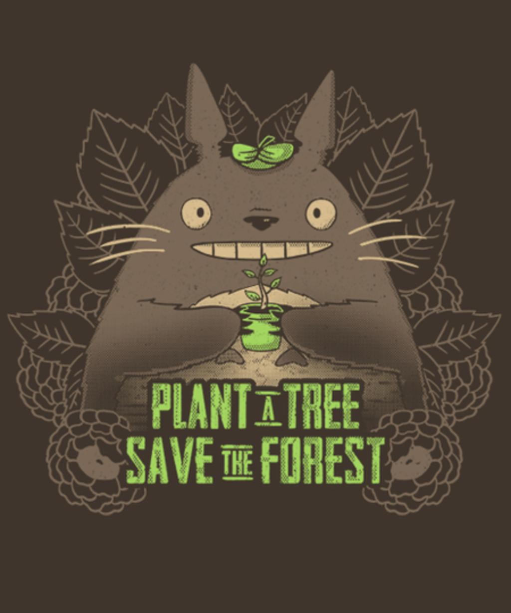 Qwertee: Plant a Tree