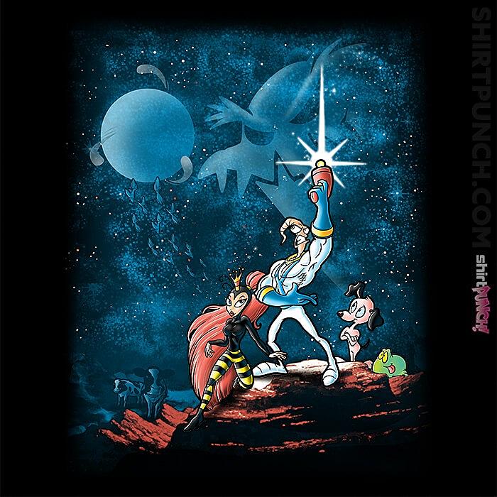 ShirtPunch: Earthworm Wars