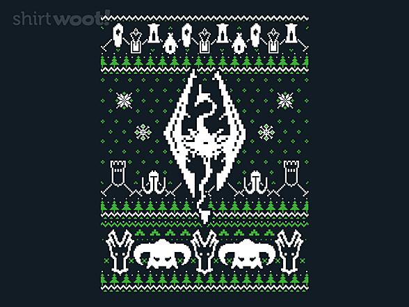 Woot!: Dragonborn Sweater