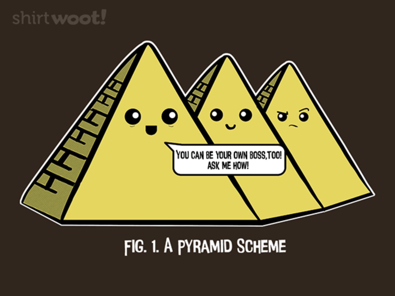 Woot!: Pyramid Scheme - $15.00 + Free shipping