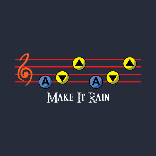 TeePublic: Make It Rain