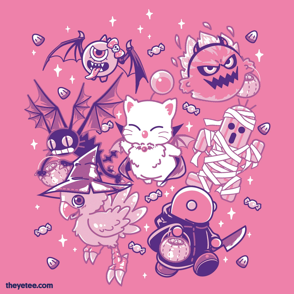 The Yetee: Fantasy Trick or Treat