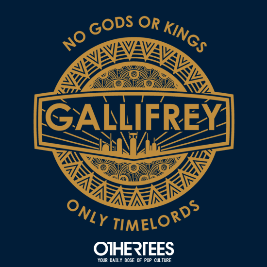 OtherTees: Only Time Lords