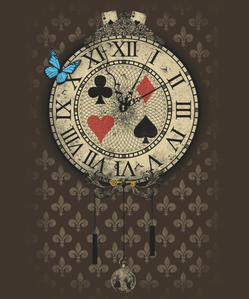 Qwertee: New adventure in Wonderland
