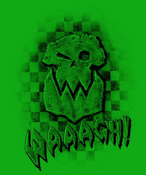 EnTeeTee: Waaagh Banner by Helljester woman