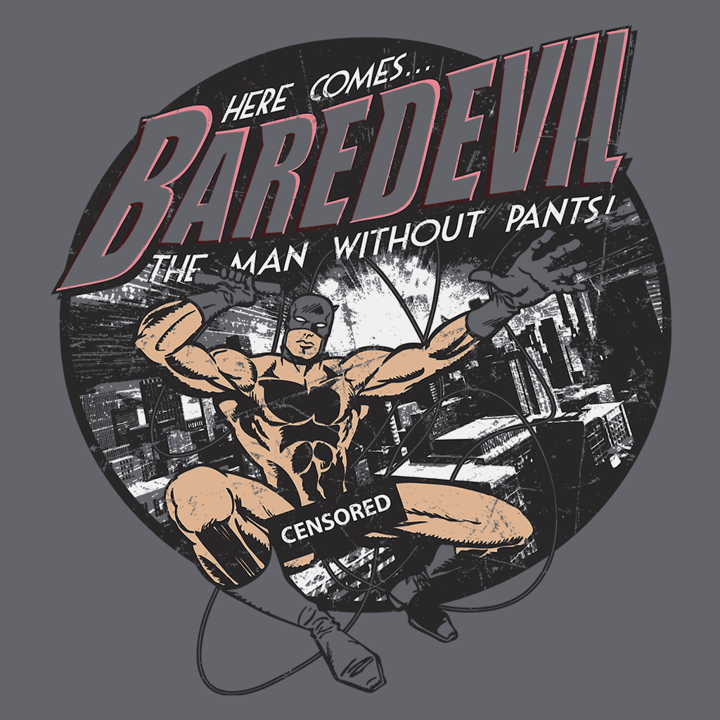 Pop-Up Tee: Baredevil