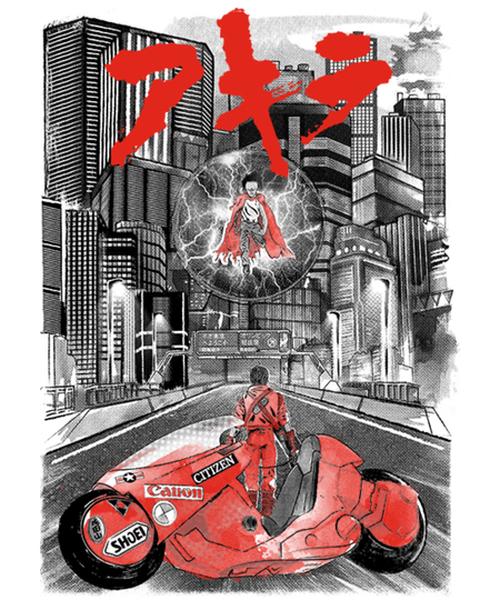 Qwertee: Welcome to Neo-Tokyo