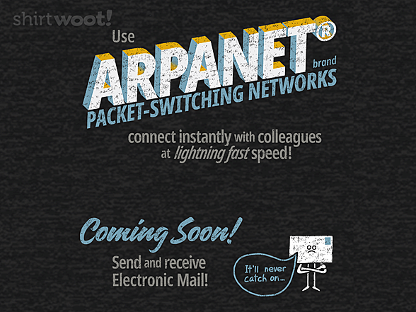 Woot!: Welcome to the ARPANET - Remix