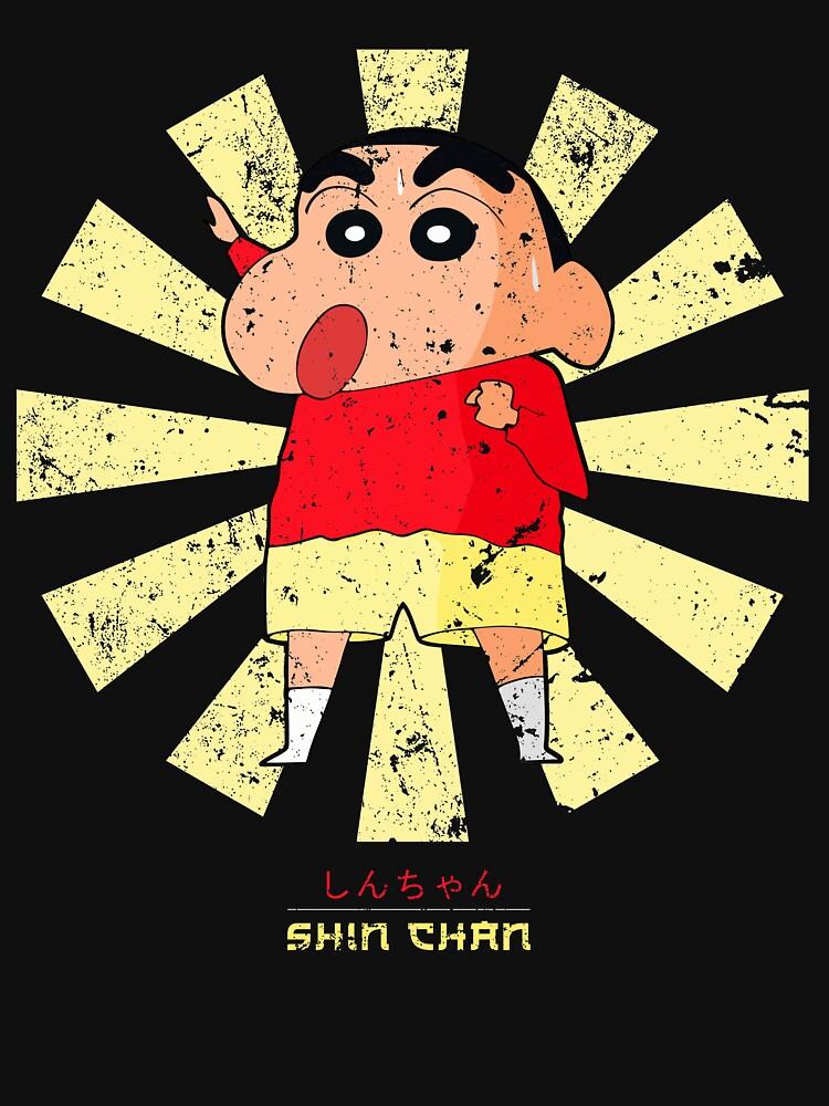 RedBubble: Crayon Shin Chan Retro Japanese