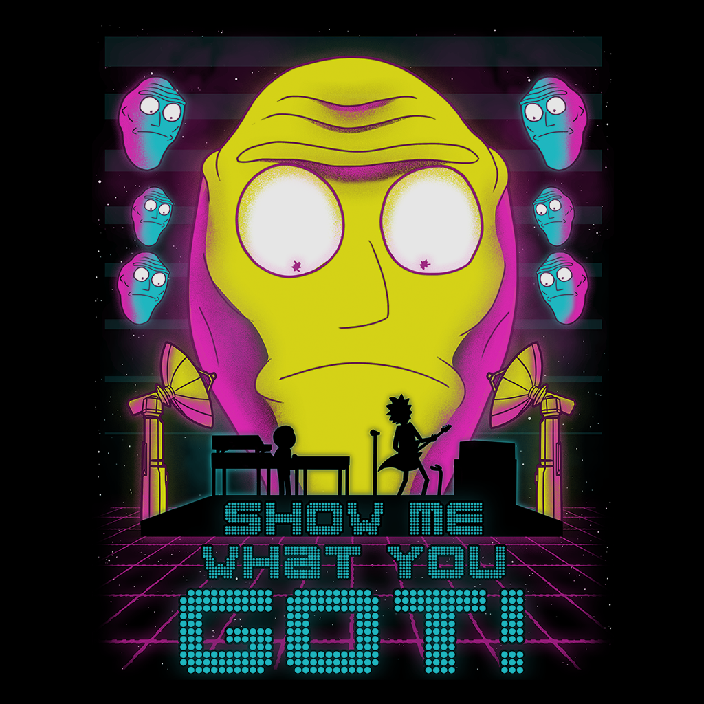 Pop-Up Tee: Show me what you Got!