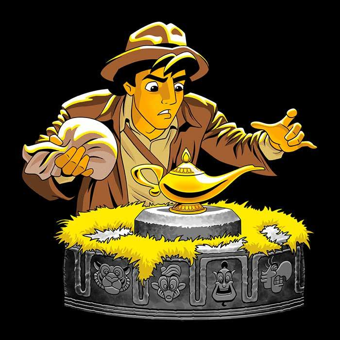 Once Upon a Tee: Raiders of the Lost Lamp