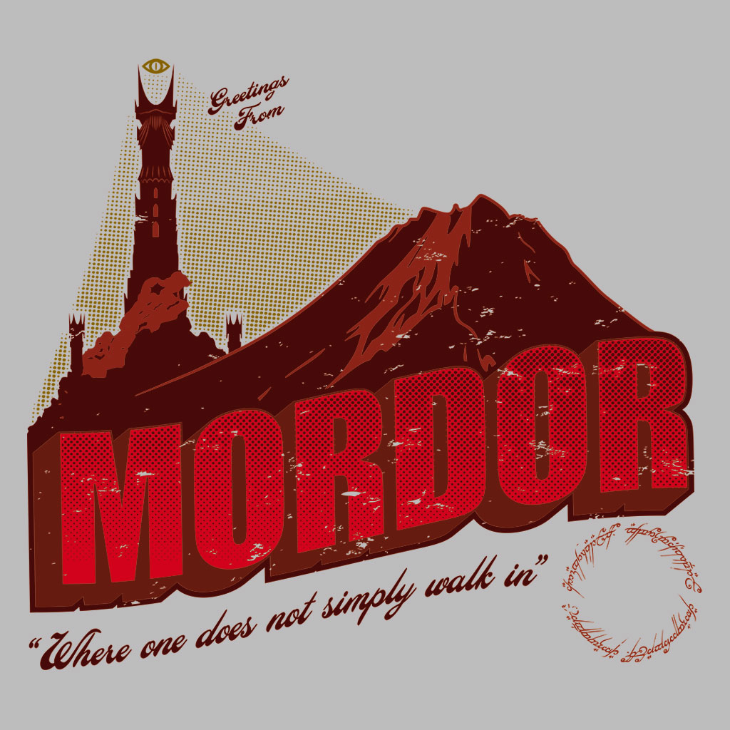 TeeTee: Greetings from Mordor