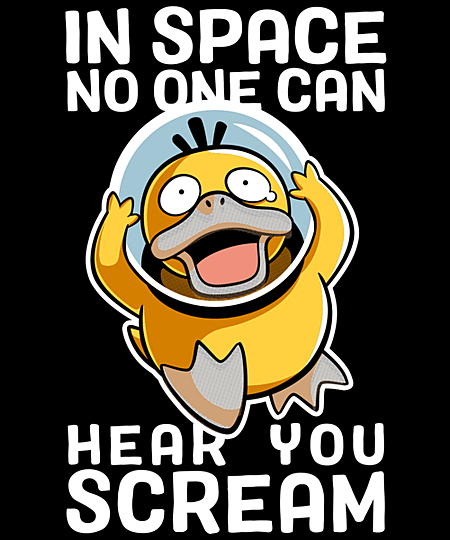 Qwertee: In Space no One can Hear you Scream