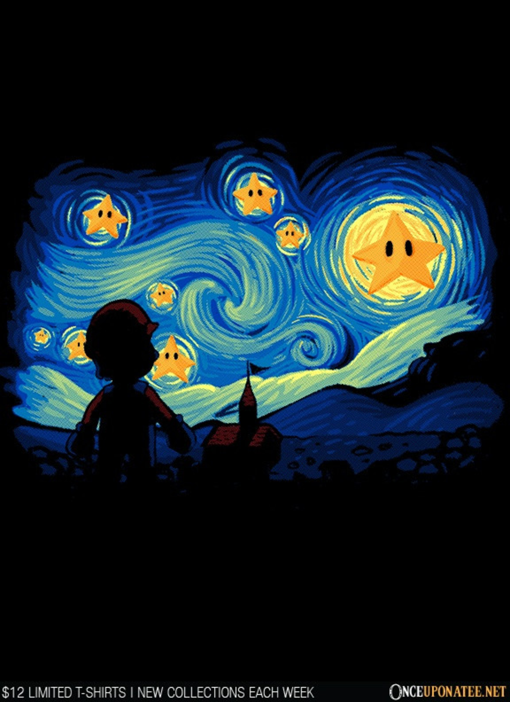 Once Upon a Tee: Super Starry Night