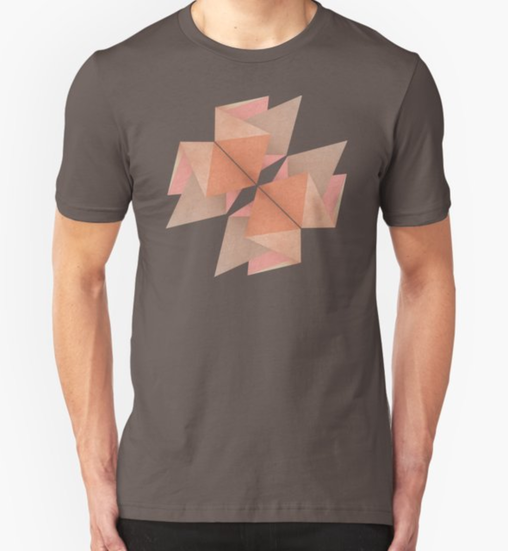 RedBubble: Texured Rose Gold
