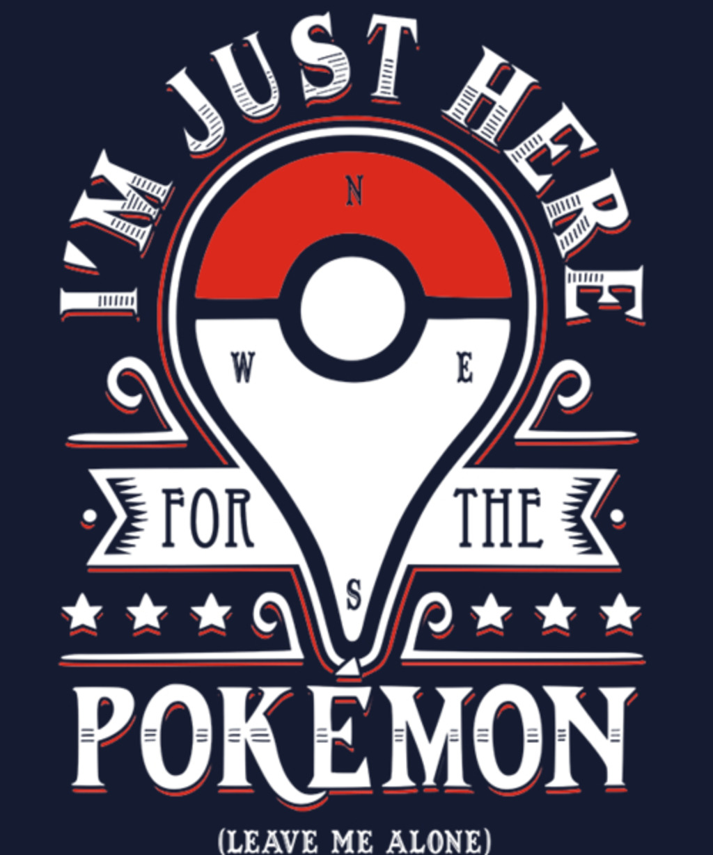 Qwertee: Catching some Monsters