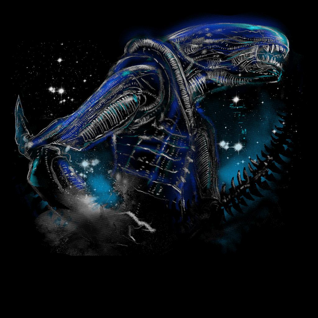 Pop-Up Tee: Alien Terror from Deep Space