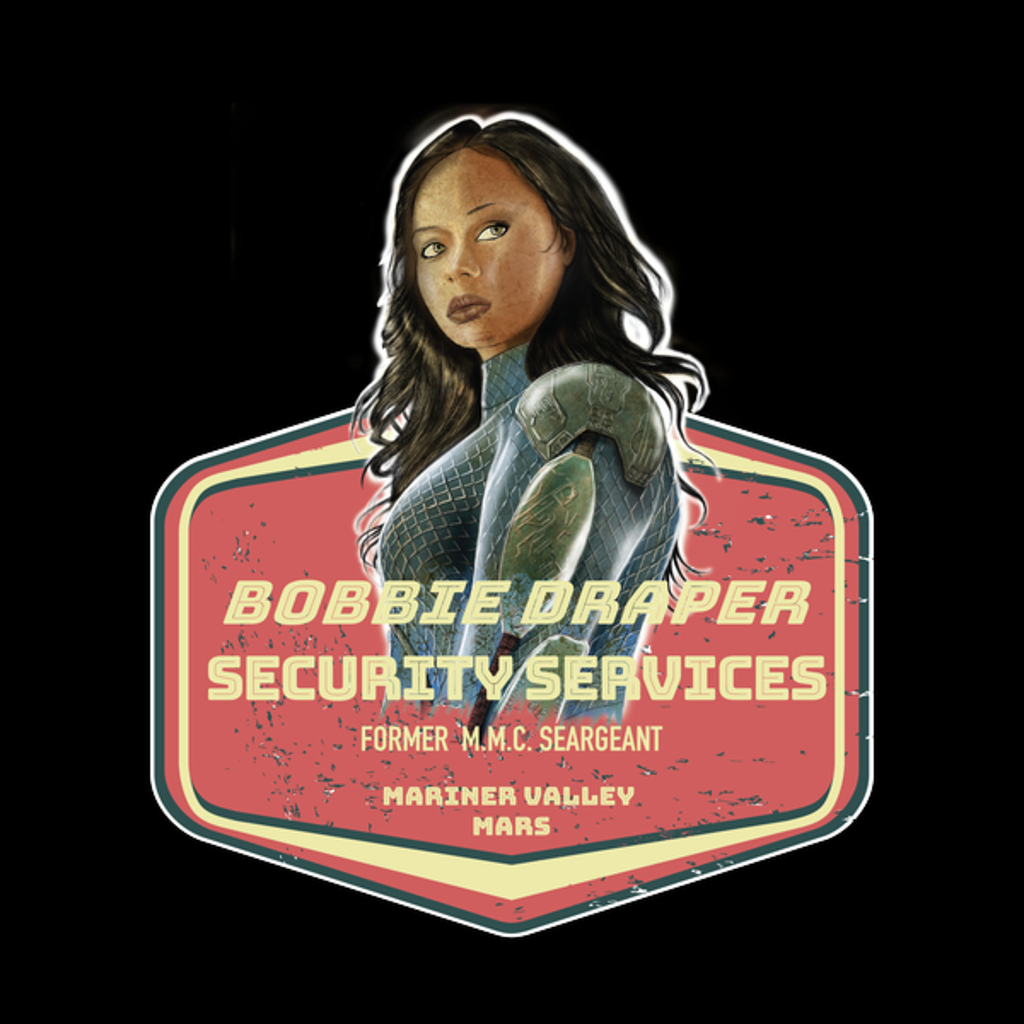 NeatoShop: BOBBIE DRAPER SECURITY